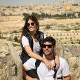 Dudu Azevedo fez viagem para Israel, ao lado da mulher, Fernanda Mader: ' Cada viagem que faço me dou conta do quanto é fundamental conhecer e trocar com outras culturas. '