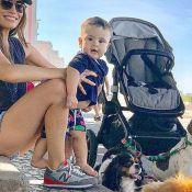 Filho de Dudu Azevedo rouba cena em foto com a mãe: 'Família linda'. Veja!