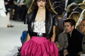 Louis Vuitton traz de volta o balonê dos anos 80, alfaiataria e cores vibrantes