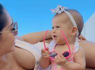 Filha de Mayra Cardi mostra estilo em fotos com mãe e encanta web: 'Modelinho'