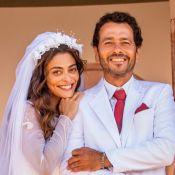 Amadeu e Maria da Paz fazem pacto de paz para se casarem em 'A Dona do Pedaço'