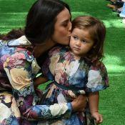 Casada, Yanna Lavigne revela dividir cama com a filha: 'Amo dormir com ela'