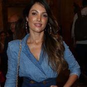 O look setentista de Patricia Poeta vai fazer você desejar um jeans na hora!