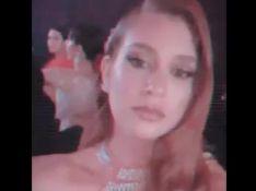 Em Cannes, Marina Ruy Barbosa surge descalça em hotel após show de Mariah Carey