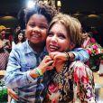 Astrid Fontenelle se tirnou mãe após adotar Gabriel, que atualmente está com 6 anos