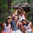 Elba Ramalho já era mãe de Luã quando decidiu aumentar a família. Para isso, adotou três meninas: Maria Esperança, Maria Paula e Maria Clara