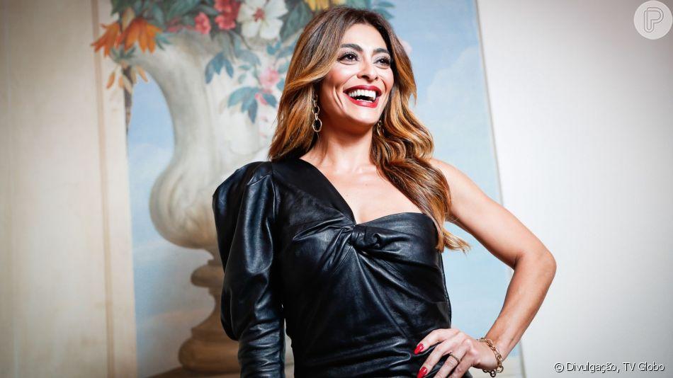 Juliana Paes explica sotaque mais carregado na 2ª fase da novela 'A Dona do Pedaço': ' Quis tirar um pouco desse 'xis' carioca'