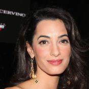 Mulher de George Clooney, Amal Alamuddin volta a trabalhar após casamento
