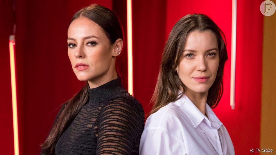 Fabiana (Nathalia Dill) influencia Virgínia (Paolla Oliveira) após ciúmes de Camila (Lee Taylor) na novela 'A Dona do Pedaço'