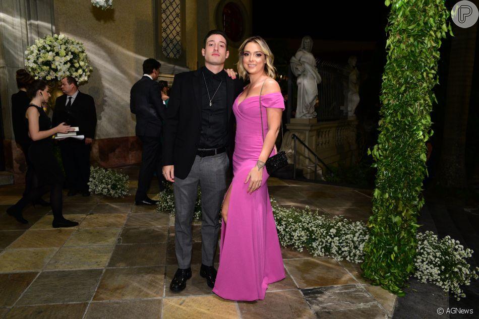 Carol Dantas se casa com Vinicius Martinez em Sorocaba, em São Paulo, em 8 de junho de 2019