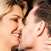 Antonia Fontenelle explica fotos de beijo em Eduardo Costa: 'Fizemos um clipe'