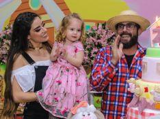 Muita fofura! Filha do cantor sertanejo Hudson encanta em festa de 2 anos