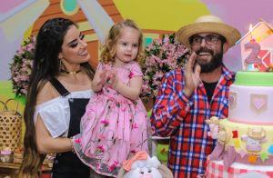 Muita fofura! Filha do cantor sertanejo Hudson encanta em festa 2 anos