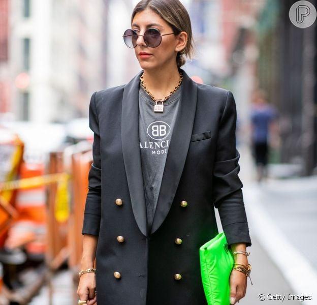 Confira truques para usar o blazer como vestido