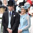 Kate Middleton foi ao evento real na companhia do marido, Kate Midletton