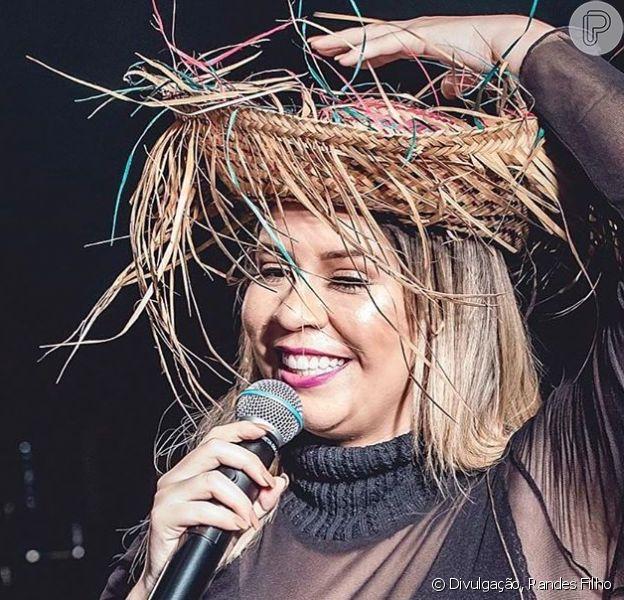 Marilia Mendonça fez show na cidade de Amargosa, no interior da Bahia, na noite desta segunda-feira, 24 de junho de 2019