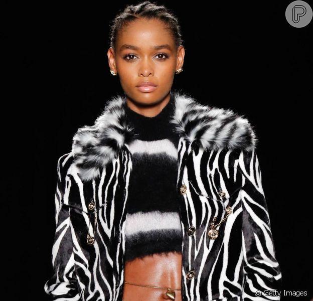 Estampa de zebra é o animal print do momento