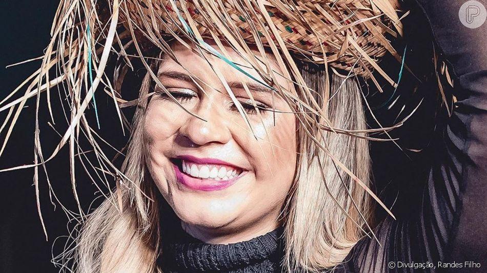Marilia Mendonça ganha segundo Chá Revelação em show neste sábado, dia 06 de julho de 2019