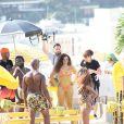 Anitta gravou o clipe em maio na comunidade Tavares Bastos