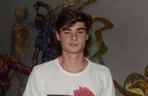 João, filho de Fabio Assunção, troca declarações com namorada: 'Sortudo é pouco'