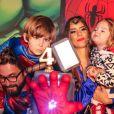 Aniversário do filho de Hudson, dupla de Edson, foi comemorado com festa temática