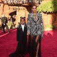 Vestido usado por Beyoncé em clipe de 'Rei Leão' foi feito por 17 pessoas durante 1 semana