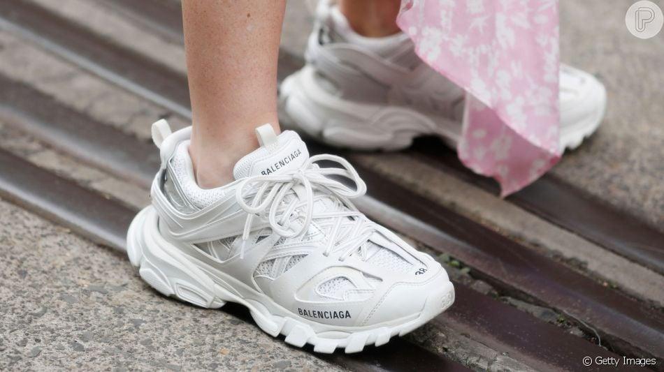f87c74ecb99f Chunky sneakers: os tênis enormes se tornaram queridinhos entre os  fashionistas