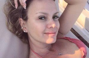 Penteado de Manuela, filha de Eliana, rouba a cena em fotos: 'Cabelo lindo'