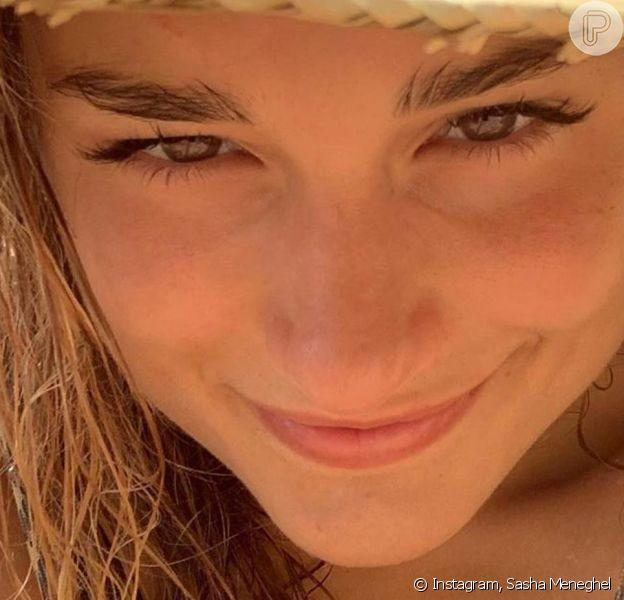 Sasha Meneghel compartilhou foto na praia para comemorar 21 anos: 'Que seja leve, luz, amor... Axé'