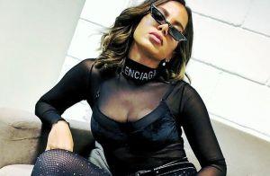 Anitta avalia uso de Photoshop em ensaio de lingerie: 'Também gosto de sonhar'