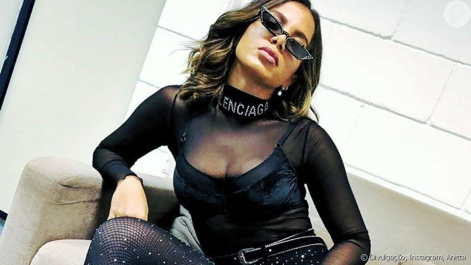 Anitta avalia repercussão de fotos sensuais em publicação no Instagram, nesta segunda-feira, dia 29 de julho de 2019