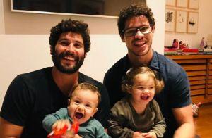 Explosão de fofura! Filhos de José Loreto e Dudu Azevedo roubam a cena em vídeo
