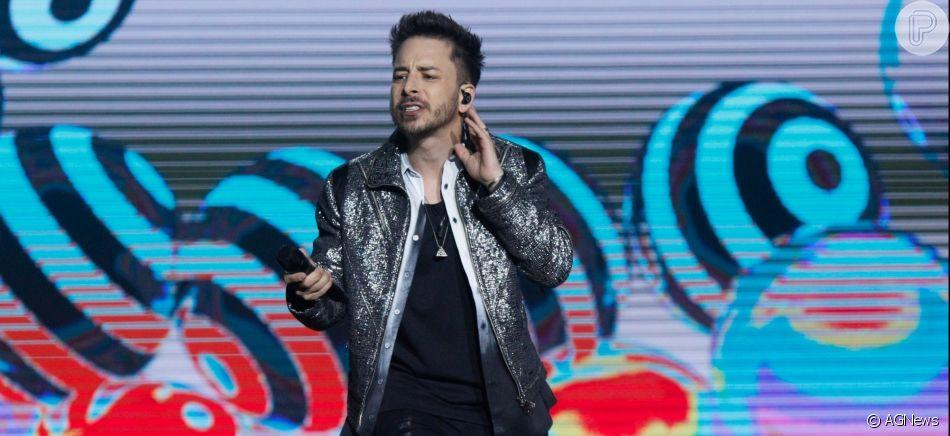 Sandy e Júnior apresentam show da turnê 'Nossa História' no Jeunesse Arena, na Barra da Tijuca, Rio de Janeiro, nesta sexta-feira, 02 de agosto de 2019