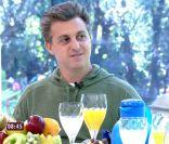 Luciano Huck revela prato preferido para jantar romântico com Angélica: 'Peixe'