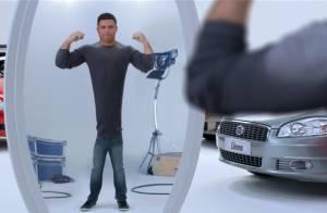 Agência conta como Ronaldo ficou magro em comercial: 'Cabeça em corpo de dublê'