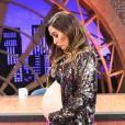 As mudanças no corpo de Tatá Werneck trazidas pela gravidez tem sido encaradas com uma pitada generosa de bom humor