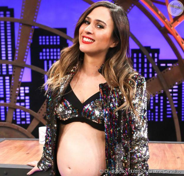 15 momentos da gravidez em que Tatá Werneck deu show de humor e empoderamento reunidos neste domingo, dia 09 de agosto de 2019