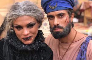 Edu Porto se despede de eunuco de 'Jezabel': 'Aprendi com Jaali que tudo passa'