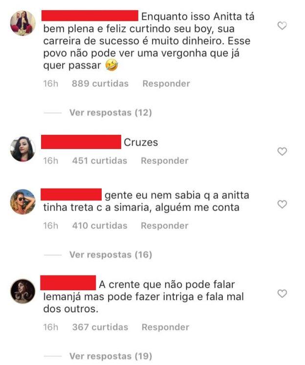 Simaria segue Luana Piovani no Instagram de divide web