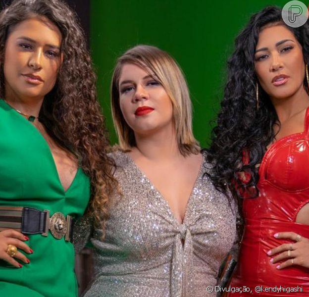Marilia Mendonça comemora parceria com Simone e Simaria