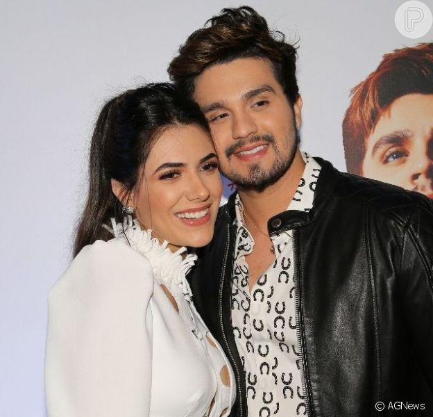 Luan Santana define sua desenvoltura ao dançar coladinho com namorada em vídeo postado nesta terça-feira, dia 27 de agosto de 2019