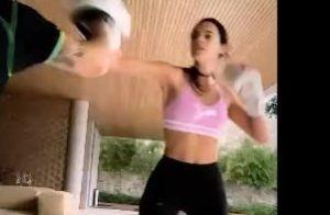Burpee, boxe e mais: Bruna Marquezine foca pesado em treino com Chico Salgado