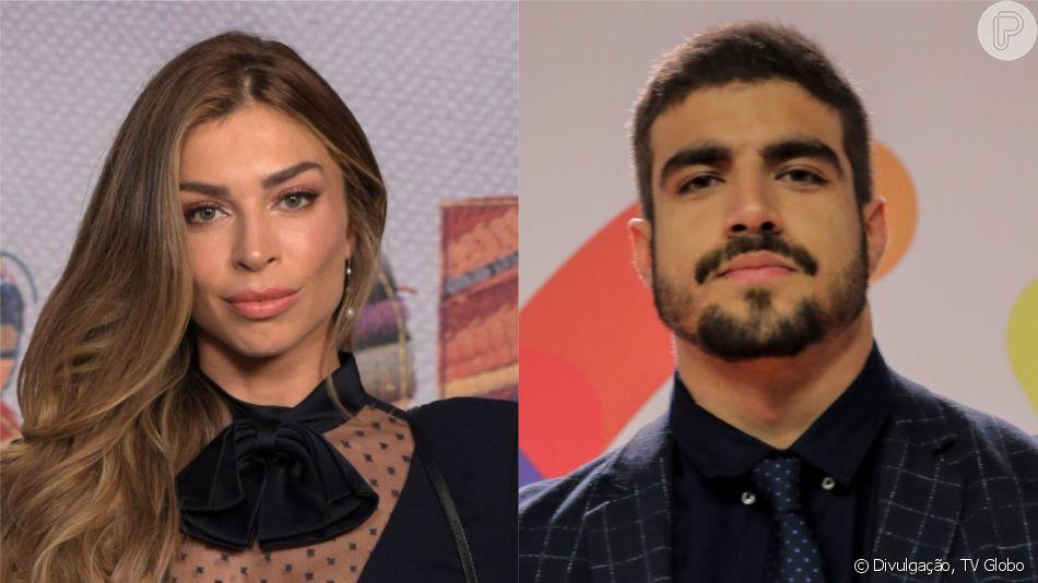 Grazi Massafera e Caio Castro trocaram beijos na festa de aniversário de Luciano Huck, segundo o colunista de TV DanielC astro, nesta quarta-feira, 4 de setembro de 2019