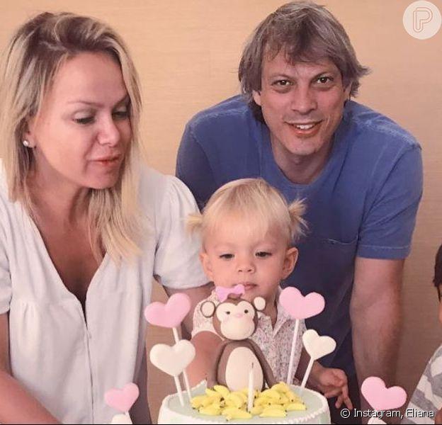 Eliana comemorou 2 anos da filha, Manuela, nesta terça-feira, 10 de setembro de 2019