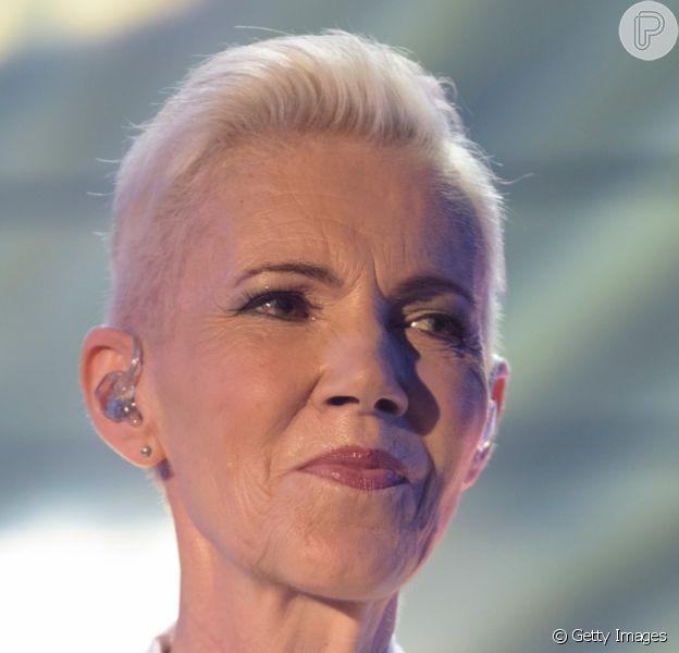 A cantora Marie Fredriksson, vocalista da dupla Roxette, morreu aos 61 anos em 10 de dezembro de 2019