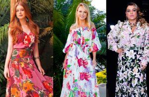 50 looks de famosas provam que vestido floral é uma trend democrática