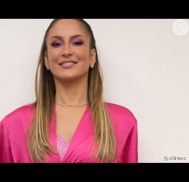 Claudia Leitte mostrou vídeo da filha, Bela, sorrindo nesta quarta-feira, dia 18 de setembro de 2019