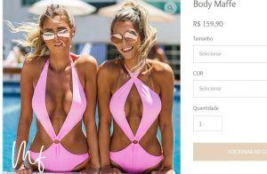 Anitta posa de maiô engana mamãe neon e exibe marquinha de biquíni em fotos