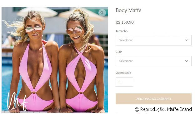 Maiô usado por Anitta custa R$ 159