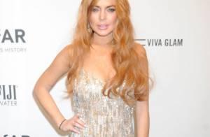 Lindsay Lohan devolve aos farrapos vestido de R$ 3,5 mil